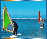 Windsurfing in Fuerteventura in Fuerteventura