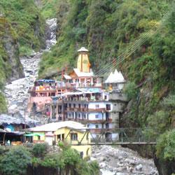 Yamunotri Temple in Yamunotri