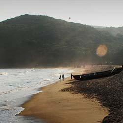 Yarada Beach in Visakhapatnam