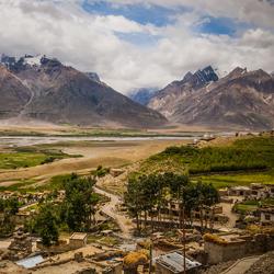 Zanskar Hills in Zanskar