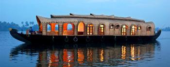 Kochi - Munnar - Thekkady - Alleppey (Houseboat) - Kochi Tour