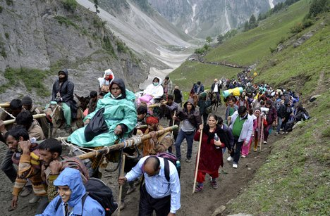 Amarnath Yatra By Trek - 05 Nights / 06 Days