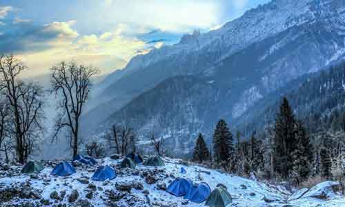 Kashmir Great Lakes Trek The Himalayas Tour