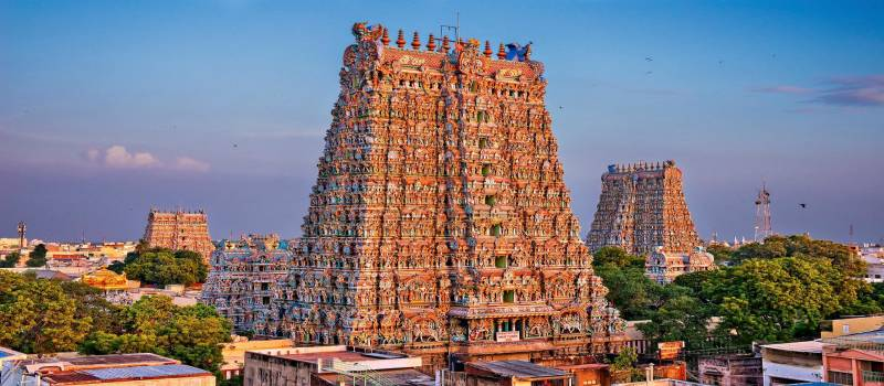 South India Luxury Temple Tour Package