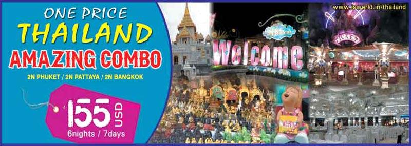 2 N Phuket 2 N Pattaya 2 N Bangkok Tour