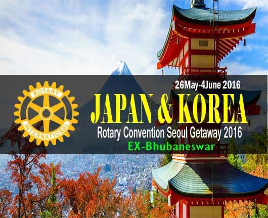Rotary Convention Seoul Getaway-Seoul & Tokyo Tour