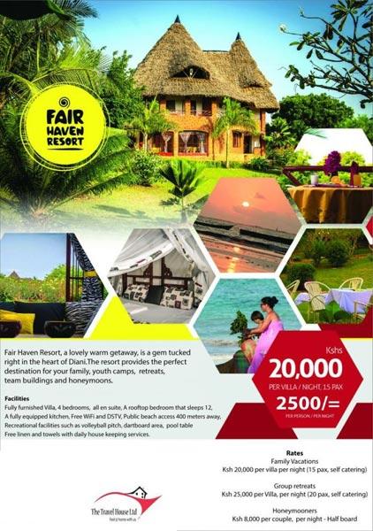 5 Days 4 Nights Bogoria Spa Resort