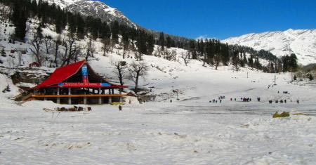 Car Rental Package: MANALI TOUR For 4 Days And 3 Nights