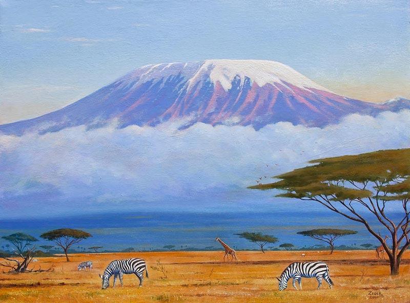 15 Days Mt Kilimanjaro Hike And Tanzania Wildlife Combo