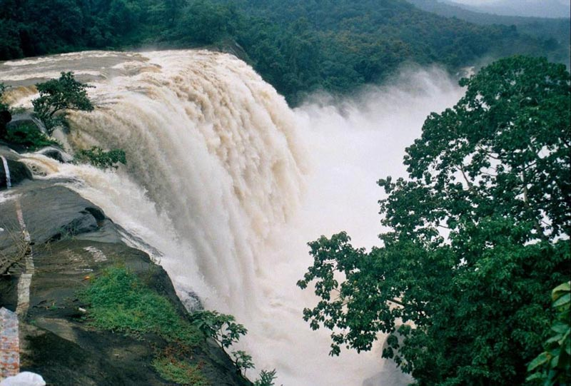 Kerala Waterfall & Backwaters From Apparent Tour