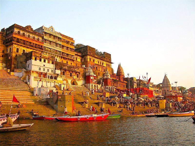 Golden Triangle With Khajuraho & Varanasi Tour