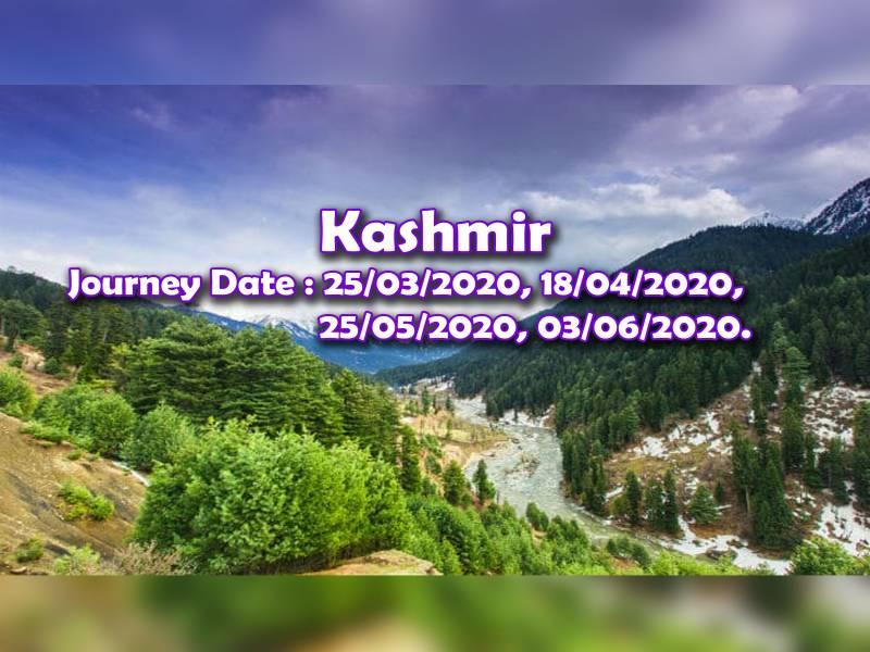 Tour Programme Of Amritsar, Kashmir & Vaishno Devi