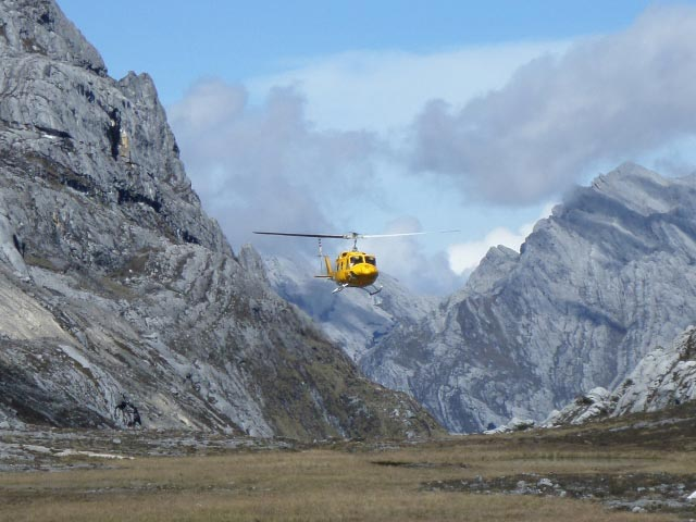 Carstensz Pyramid Expedition By HELICOPTER Tour