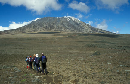 Climbing Mount Kilimanjaro Via Machame Route Tour