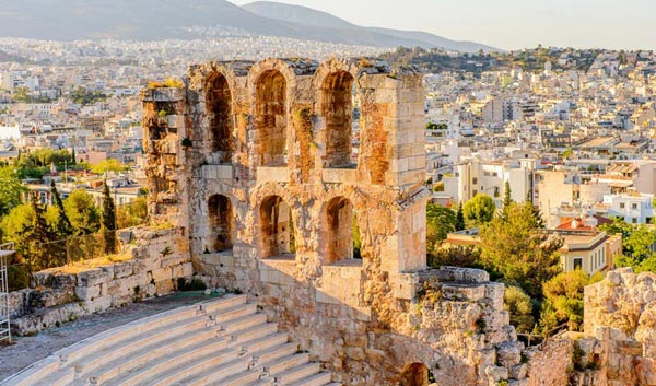 Summer In Greece Land Only Tour