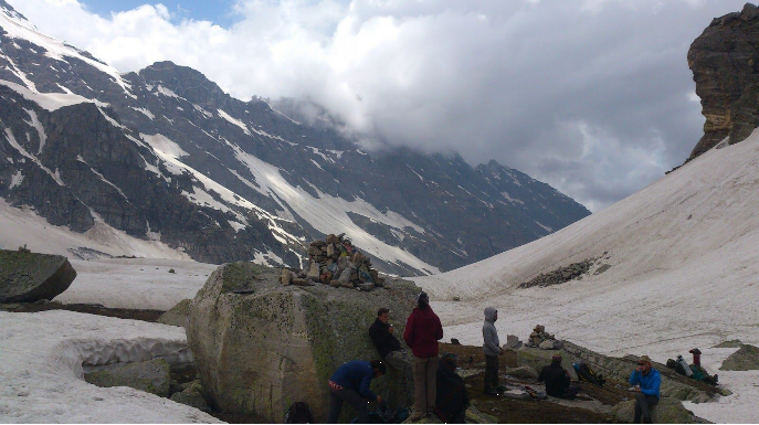 Hampta Pass Trek With Camping At Chandertaal And Trip To Kunzum La (6 Days)