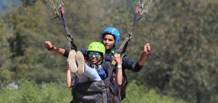 Longest Paragliding Experience In Kullu Manali