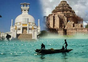 4 Night-5 Days Golden Triangle Bhubaneswar-Puri-Konark With Chilika At Satapada