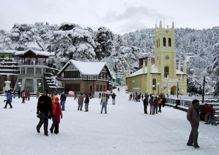 Chandigarh - Kalka - Kasauli - Shimla - Chail Tour