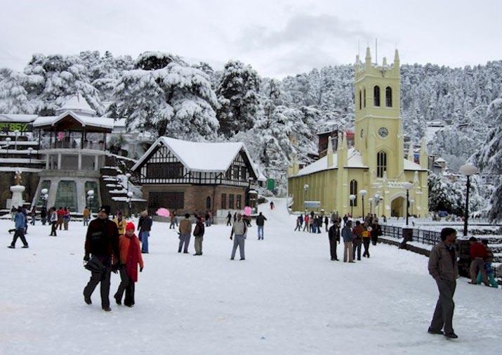 Chandigarh - Kalka - Kasauli - Shimla - Chail Tour