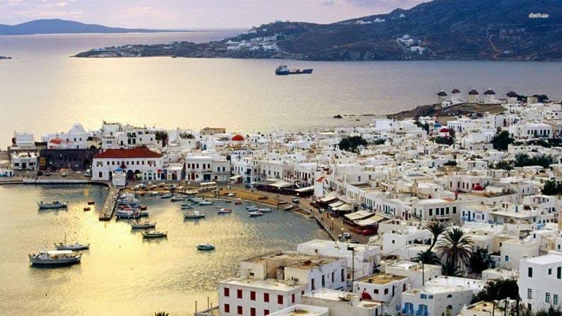 Athens - Paros - Mykonos Tour