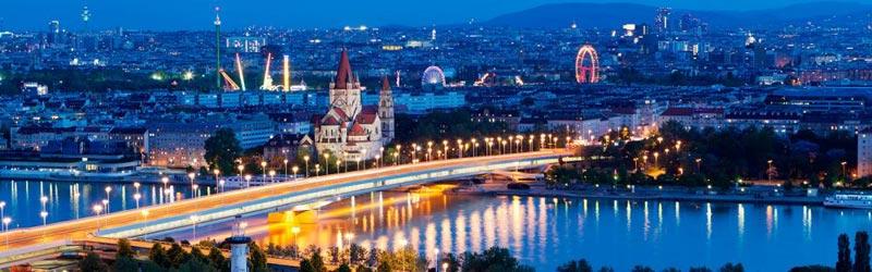 Munich - Salzburg - Vienna (Rt)