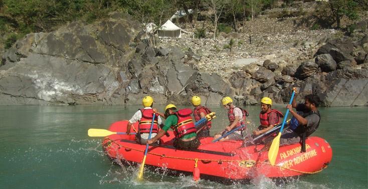 Trek, Bike & Raft In Garhwal Himalayas Package