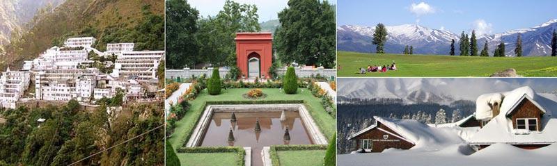 Kashmir Tour With Vaishno Devi