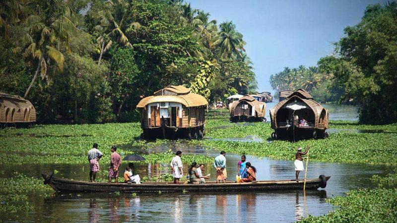 Enchanting Kerala With Kanyakumari Tour