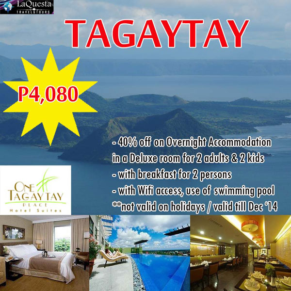 Tagaytay Package Tour