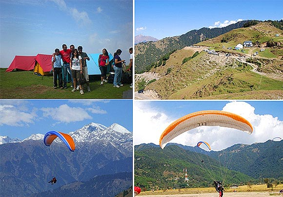 Fly Like A Bird As Paragliding Tour