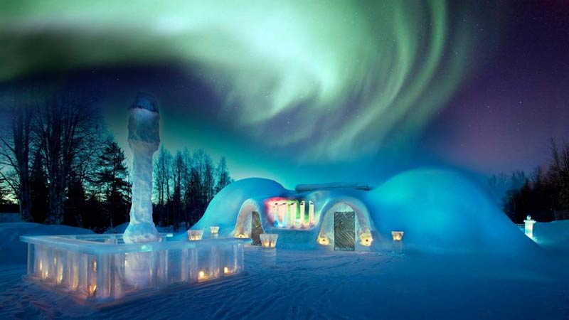 Aurora And Snowcastle Tour