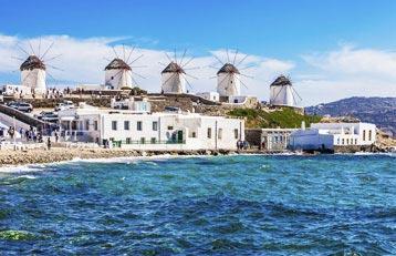 Athens – Mykonos (5 Nights/ 6 Days) Tour