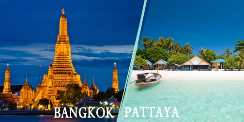 Bangkok & Pattaya For 4 Nights Tour