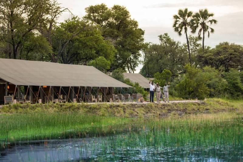Gomoti Plains Camp 2 Nights Special - Camp Kalahari To Locals