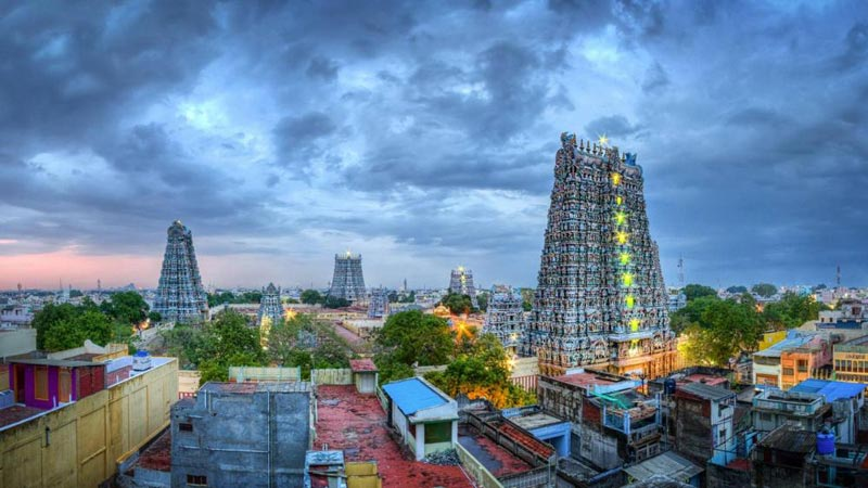 Madurai Temple And Backwaters Tour