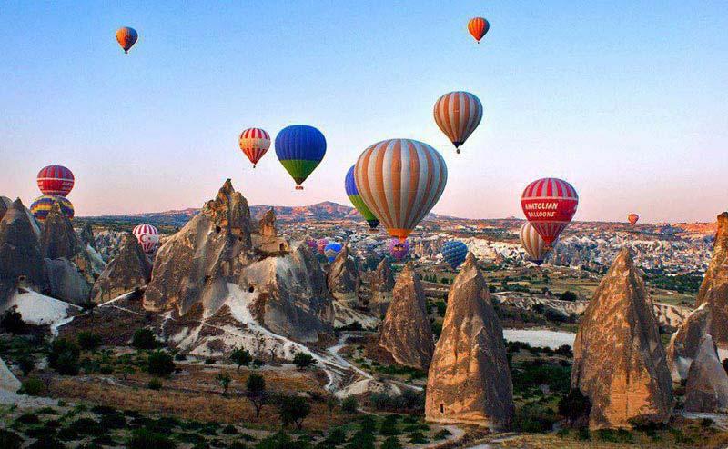 Explore Cappadocia From Antalya Package