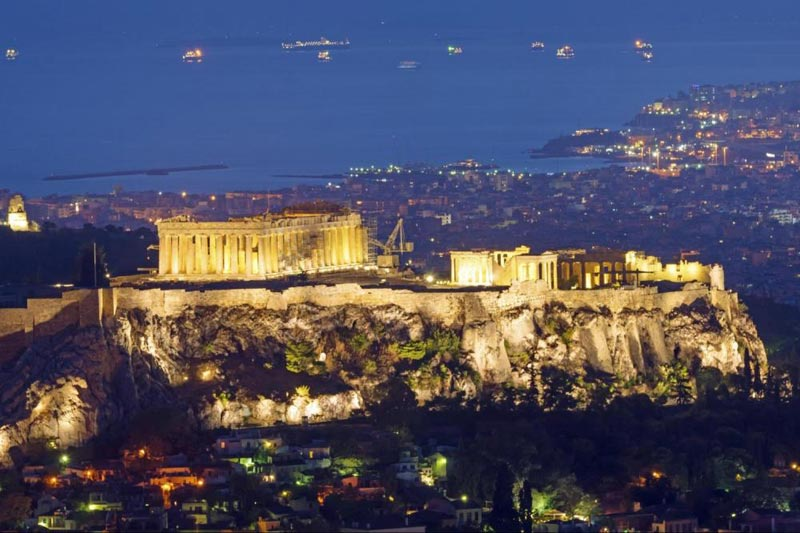 8 Day 7 Night In Athens, Mainland And 1 Day Cruise Package