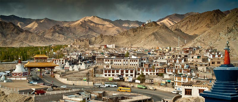Scenic View Of Leh - Ladakh From Srinagar Tour