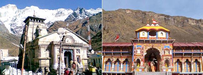 Kedarnath ,  Haridwar, Rishikesh,  Badrinath Guptkashi (6N7D) Tour