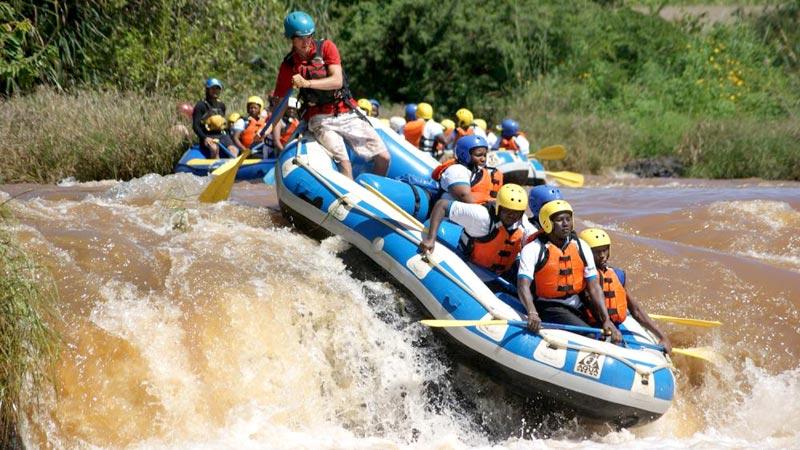 Savage White Water Rafting Tour