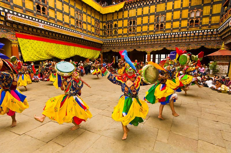 Paro Festival(19th March To 23th March 2016) Tour