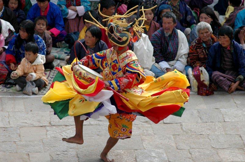 Bhutan Enchanting Tsechu-Festival Tour
