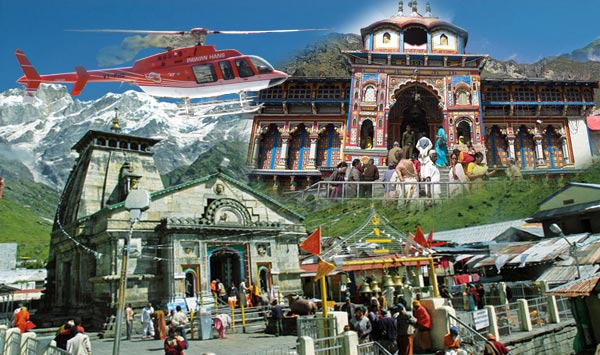 Kedarnath And Badrinath Yatra By Helicopter Tour