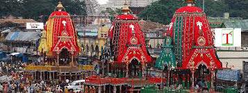 Naba Kalebara Rath Yatra At Puri