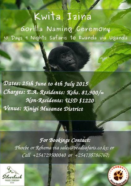 10 Days 9 Nights Safari To Rwanda Via Uganda - Kwita Izina Ceremony