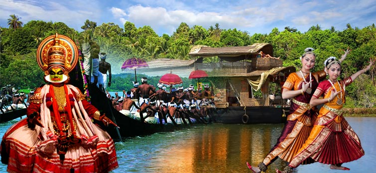 Mesmerizing Kerala With Kanyakumari Tour