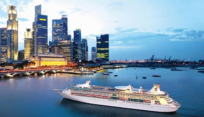 Fly Cruise Offer On Royal Caribbean With Singapore Airlines 3 Nights Cruise On Board Voyager Of The