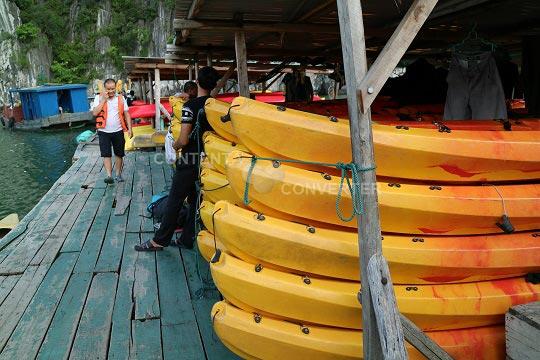 Amazing Kayaking Halong And Lan Ha Bay Tour