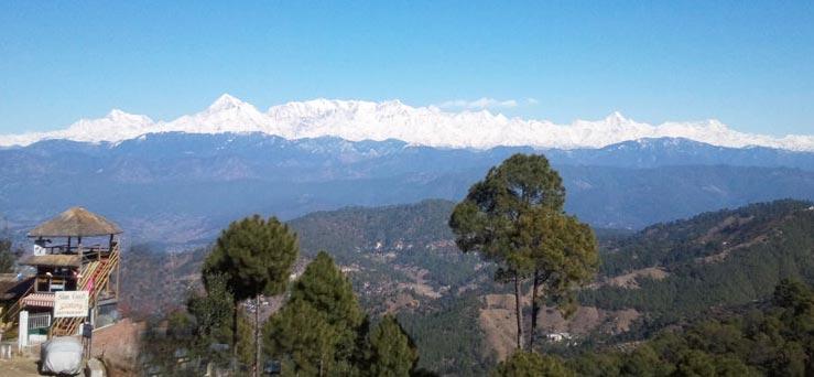 Romance In The Hills: 2N Nainital + 1N Mukteshwar + 2N Kausani Package: 5N/6D Tour